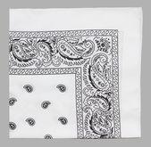 White bandanna — Stock Photo