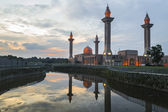 Mosque reflection — Stock Photo