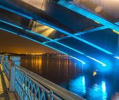 Bridge reflection — Stock Photo