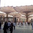 Masjid Nabawi (Mosque) entrance — Stock Photo
