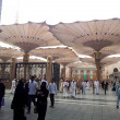 Stock Photo: Masjid Nabawi (Mosque) entrance