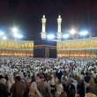 Stock Photo: Pray at Masjidil Haram Mosque in Makkah