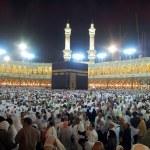 Pray at Masjidil Haram Mosque in Makkah — Stock Photo