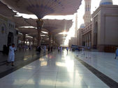 Masjid Nabawi (Mosque) compound — Stock Photo