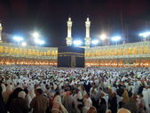 Pray at Masjidil Haram Mosque in Makkah — Stock Photo