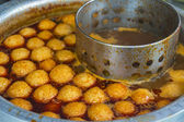 Curry fish ball — Stock Photo