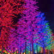 Stock Photo: LED tree