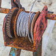 Rusted steel wire rope — Stock Photo #34875521
