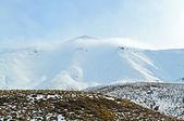 Ice mountain landscape — Stock Photo