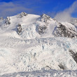 Ice mountain landscape — Foto Stock