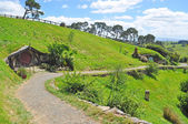 Walkway at hobbiton — Stock Photo