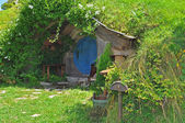 Hobbit cottage — Stock Photo