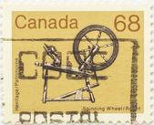 Colección de sellos — Foto de Stock