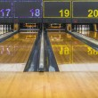 Stock Photo: Bowling lane