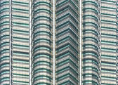 KLCC twin tower — Stock Photo