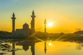 Mosque sunrise — Stock Photo