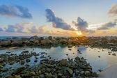 Schönen sonnenaufgang — Stockfoto