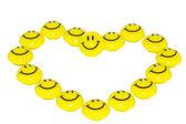 Sorriso giallo — Foto Stock