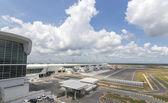 Estação do aeroporto em Kuala Lumpur, Malásia. — Fotografia Stock