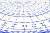 Geometry ruler — 图库照片