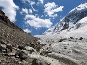 Small Ukju glacier — Stock Photo