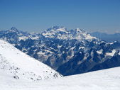 View from Elbrus slopes — Stock Photo