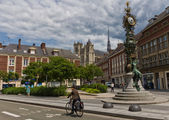 Streets of Amiens — Stock Photo