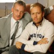 "Stock Photo: Rocco Siffredi visiting Sergei Pryanishnikov. Rocco Siffredi gives interview for ""Sp-Club"" ,""Tricolor TV"", interview takes well-known actor and anchorperson Igor Bubenchikov"