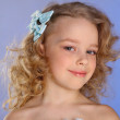 Portrait of little cute girl — Stock Photo #14101148