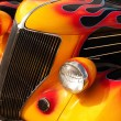 Hot Rod Flames — Stock Photo