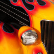 Flaming Hot Rod — Stock Photo #37062713