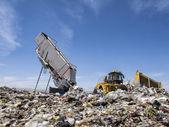 Modern Trash Disposal — Stock Photo