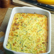 Courgette and feta souffle — Stock Photo #13859352