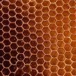 Foto Stock: Honeycomb background