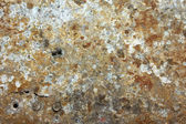 Damaged and rusted metal panels texture from the Yak-9 fighter — Stock Photo