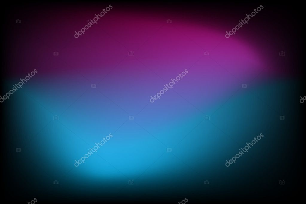 Abstract glowing gradient background with blue and purple - Vector illustration  Stock Vector #17138803
