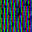 Close up of analog TV kinescope RGB noise — Stock Photo #28034643