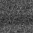 Analog TV CRT kinescope noise, black and white — Stock Video