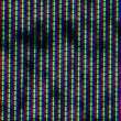 Close up of analog TV CRT kinescope noise. Texture, black & white color TV screen - no signal. Full HD loop, 1080p. — Stock Video