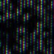 Close up of analog TV CRT kinescope noise, b&w — Stock Video #28034551
