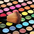 Stock Photo: Colorful eye shadows