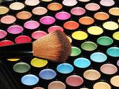 Colorful eye shadows — Stock Photo