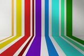 Сolored striped background — Stock Photo