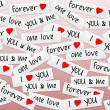 Stock Photo: Love background