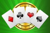 Illustration for design casino — Stock Photo