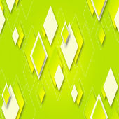 Bright seamless background with geometric diamonds for design — Stock Photo