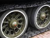 Tank Caterpillar Tread  — Stock Photo