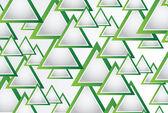 Resumen antecedentes con triángulos — Vector de stock