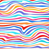 Colorful lines background — Stock Vector