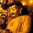 longhua temple buddha — Stock Photo
